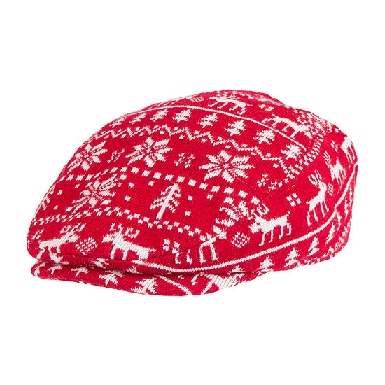 Wembley™ Holiday Fairisle Reindeer Ivy Cap