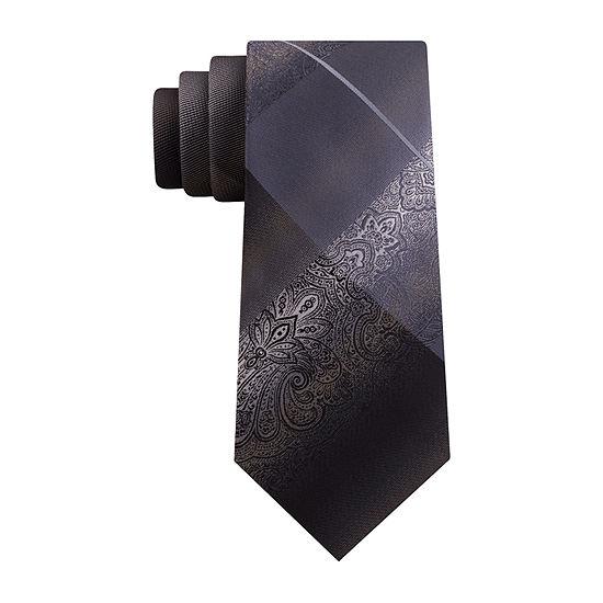 Van Heusen Paisley Xlong Tie Paisley Tie