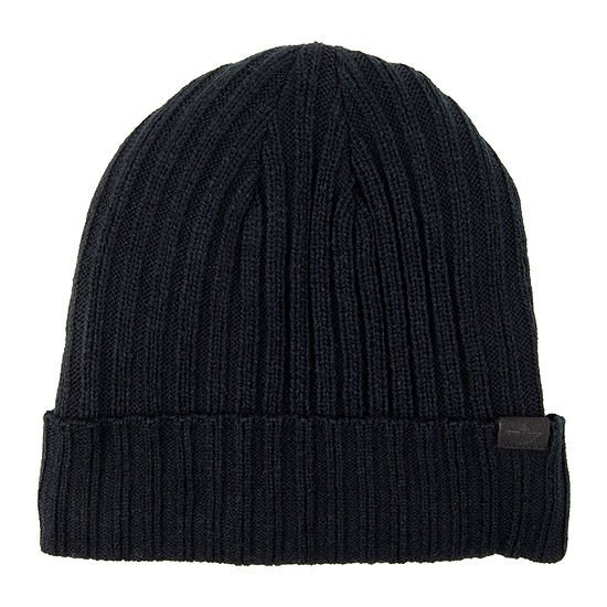 Dockers® Ribbed Beanie with Sherpa Lining
