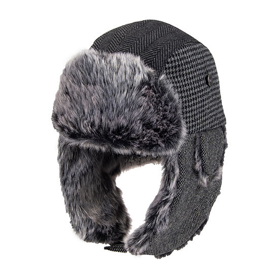 Dockers® Mixed Media Trapper with Faux Fur Lining