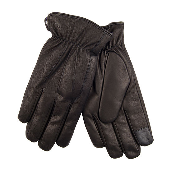 Dockers® Leather Gloves with Faux Fur Lining
