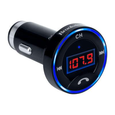 Brookstone Bluetooth Car Adapter FM Transmitter
