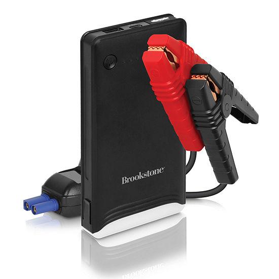 Brookstone 2-in-1 Jump Starter Power Bank - 4,000mAh