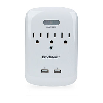 Brookstone Wall Plate With Motion Sensor Night Light Color White Jcpenney