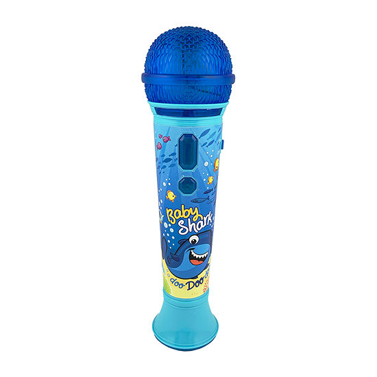 KIDdesigns Baby Shark Sing-Along Microphone