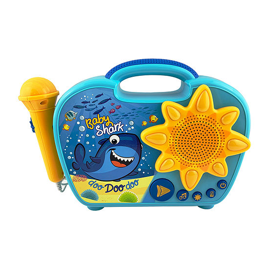 KIDdesigns Baby Shark Sing-Along Boombox