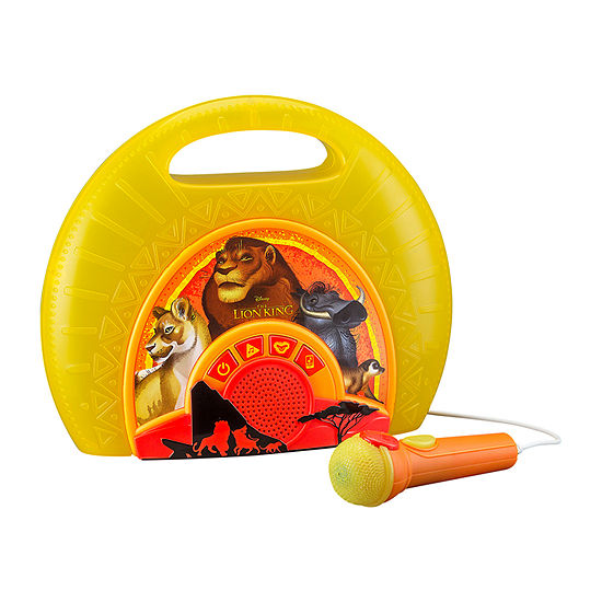 KIDdesigns The Lion King Sing-Along Boombox