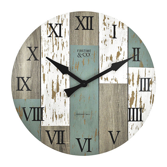 Firstime Timberworks Wall Clock