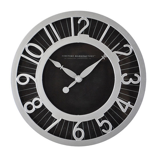 Modern Black Radient Wall Clock
