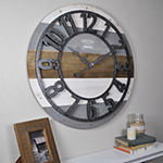 Firstime Shabby Planks Wall Clock