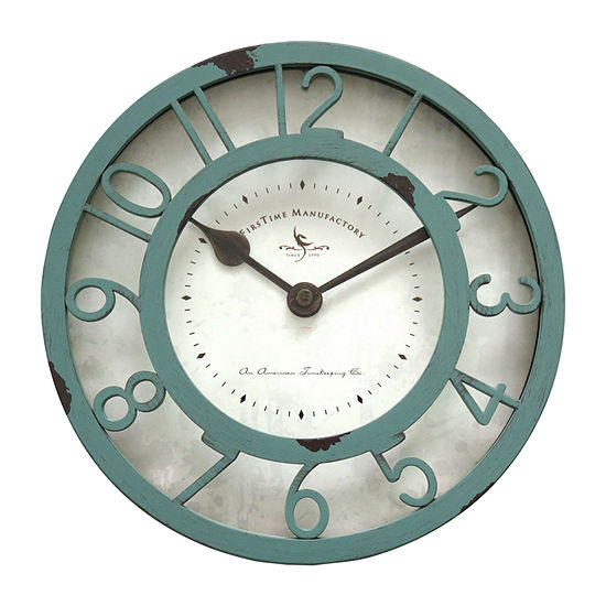 Firstime Sage Raised Wall Clock