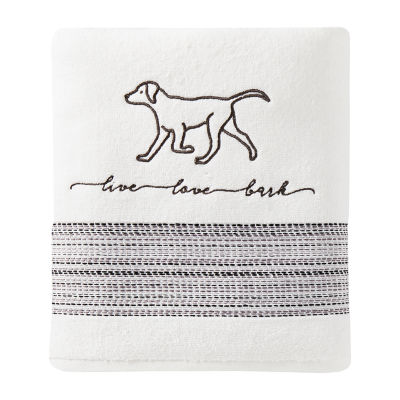 Saturday Knight Farmhouse Dogs Animal Bath Towel