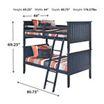 Signature Design By Ashley® Leo Twin Over Twin Bunk Beds