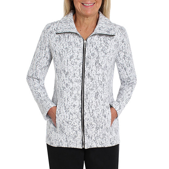 Cathy Daniels Black And White Shirt Jacket