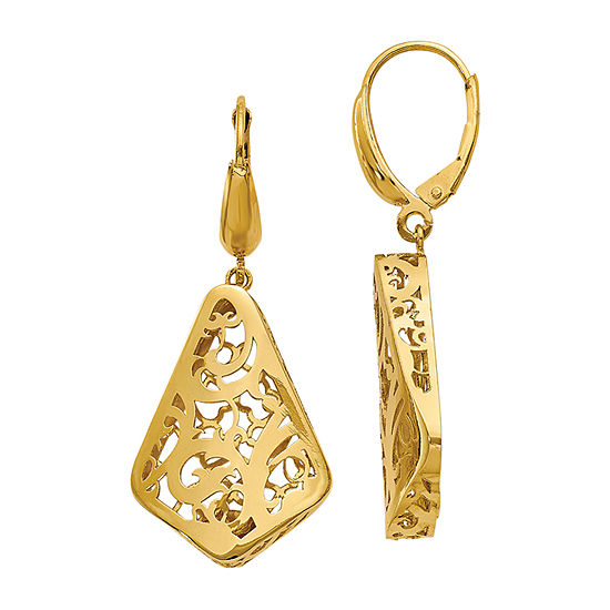 Made in Italy 14K Gold Drop Earrings