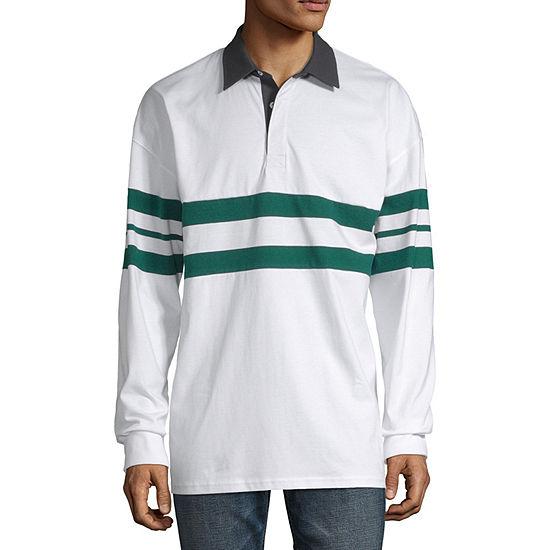 Arizona Oversized Mens Long Sleeve Polo Shirt