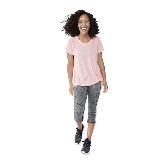 Shop the Look: Active Side Knot Tee & Capri