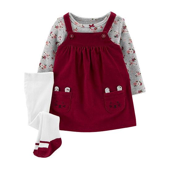 Carter's Girls Long Sleeve Jumper - Baby