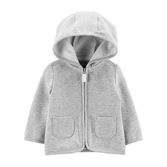 Carter's Boys Hooded Neck Long Sleeve Cardigan Baby