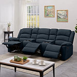 Hairu 3 Seat Recliner with 2 Power Storage Consoles