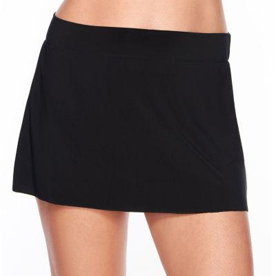 Vanishing Act By Magic Brands Slimming Control Swim Skirt Bottom