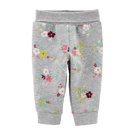 Carter's Baby Girls Straight Jogger Pant