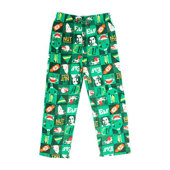 Mens Elf Fleece Pajama Pants