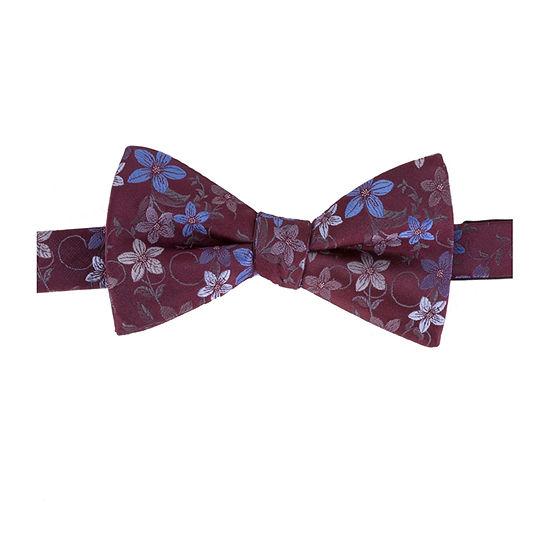 Stafford Floral Pre Tied Bow Tie Floral Bow Tie