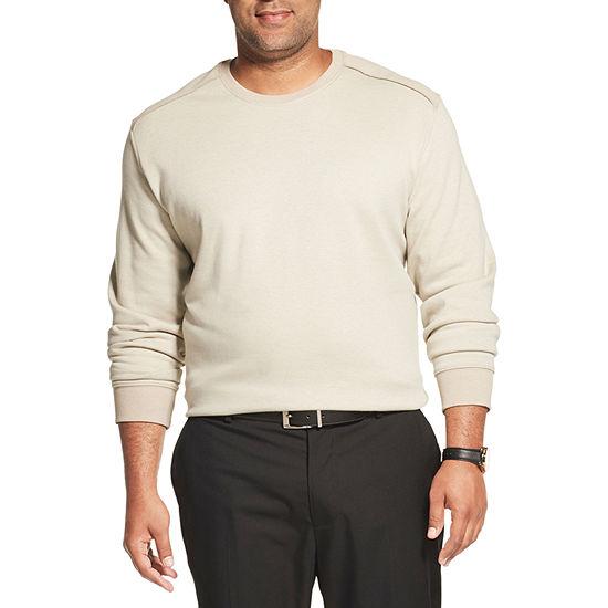 Van Heusen Big and Tall Mens Crew Neck Long Sleeve Sweatshirt