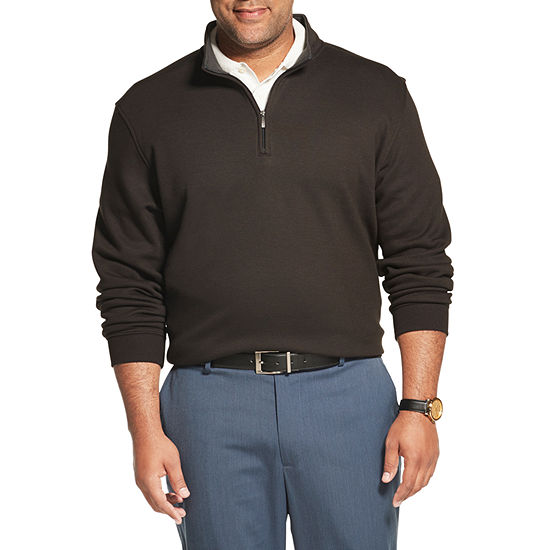 Van Heusen Mens Long Sleeve Sweatshirt Big and Tall