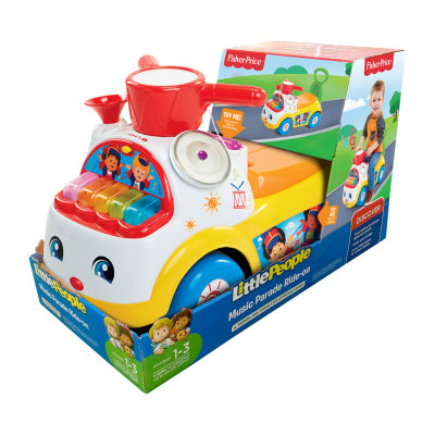 Fisher-Price Little People Music Parade Ride On Car