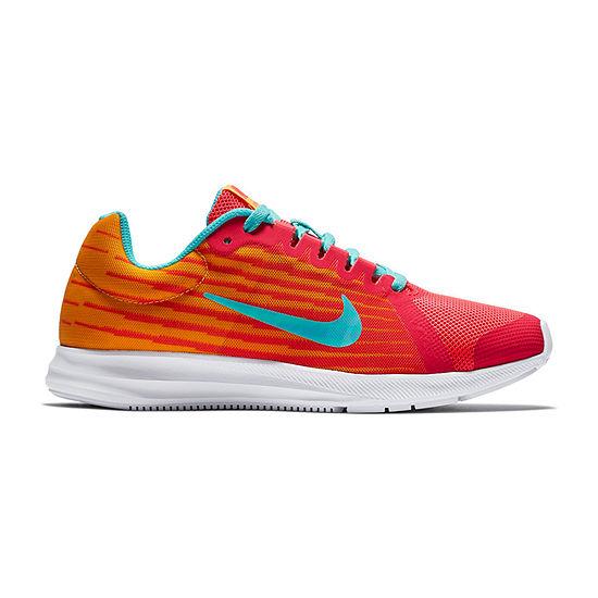 Nike Dwnshifter 8 Fade Girls Running Shoes Lace-up - Big Kids