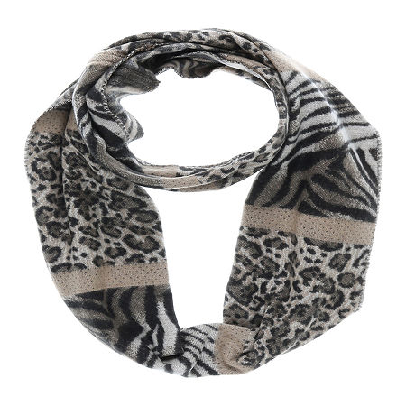 V. Fraas Animal Cold Weather Scarf, One Size , Beige