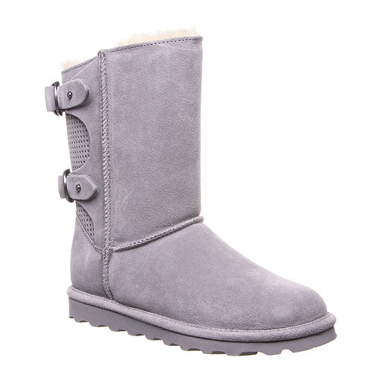 Bearpaw Womens Clara Winter Flat Heel Boots