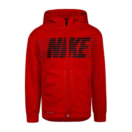 Nike Little & Big Boys Fleece Lightweight Jacket