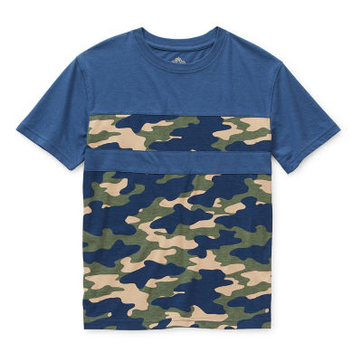 Thereabouts Little & Big Boys Crew Neck Short Sleeve T-Shirt