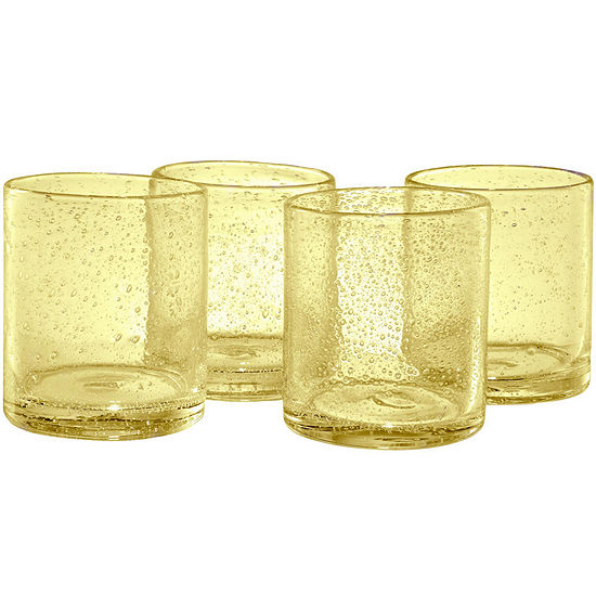 Artland Iris Set of 4 Double Old-Fashioned Glasses