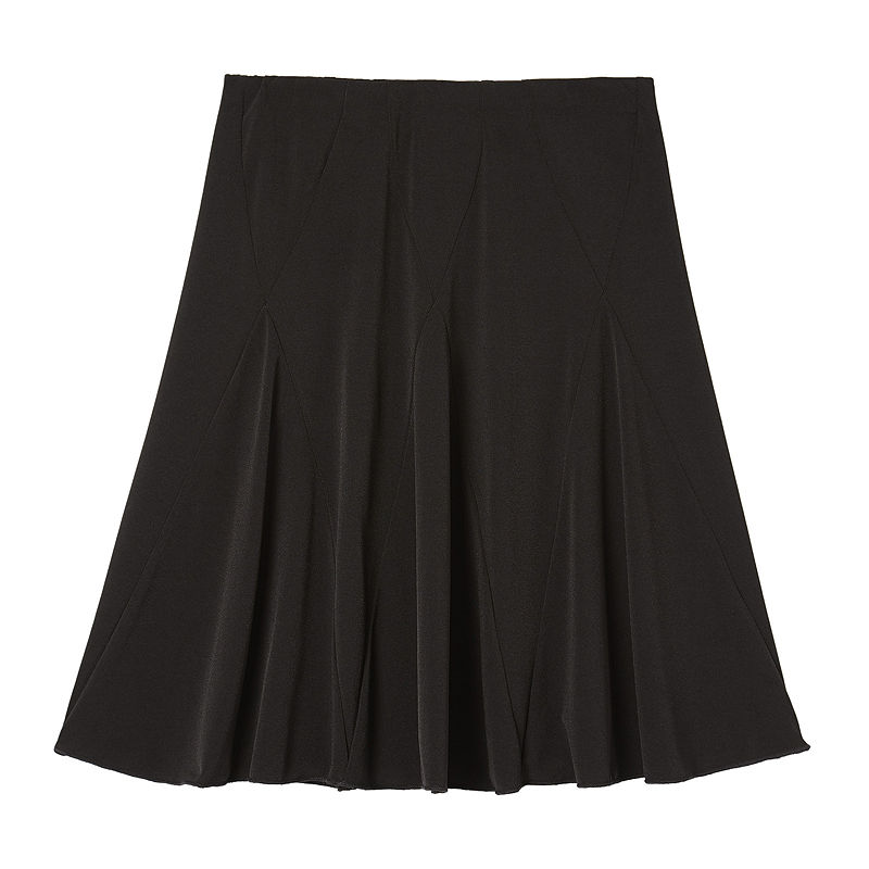by & by Girl Skirt with Panels - Girls 7-16 plus size,  plus size fashion plus size appare