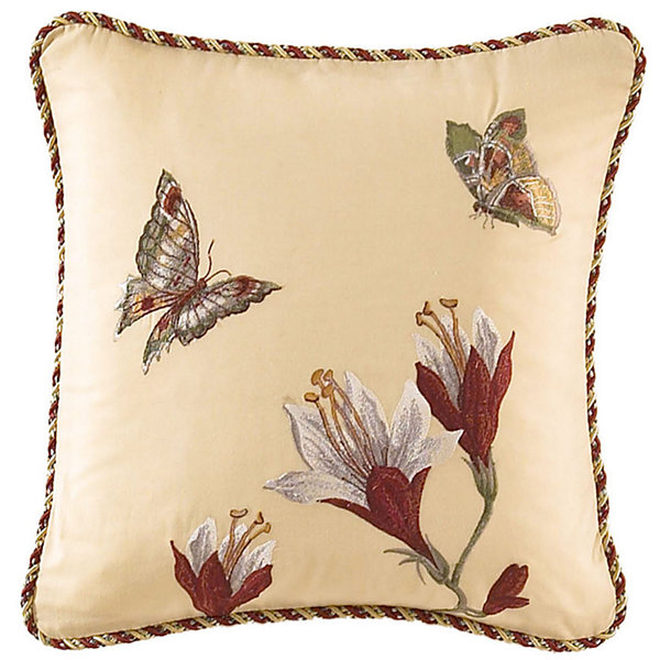"Waverly® Laurel Springs 16"" Square Decorative Pillow"