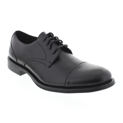 Deer Stags® Mode Mens Cap-Toe Leather Dress Oxfords