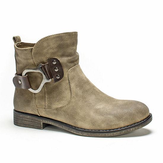64f19260a8de MUK LUKS® Hayden Womens Ankle Booties - JCPenney