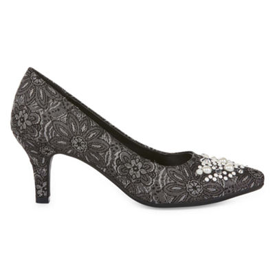 CL by Laundry Womens Effect Pumps Closed Toe
