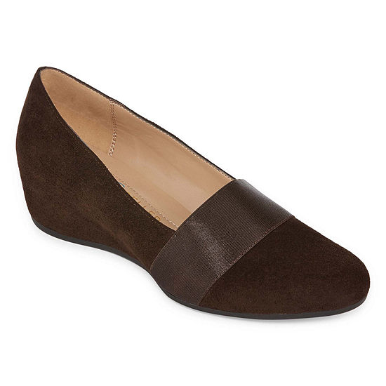 Andrew Geller Secretary Womens Slip-On Shoe