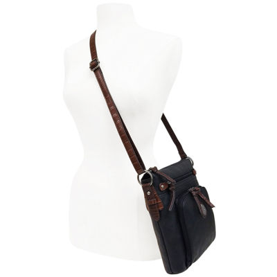 St. John's Bay Textured Convertible Crossbody Bag