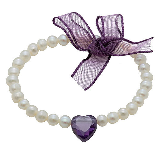 Cultured Freshwater Pearl Stretch Bracelet