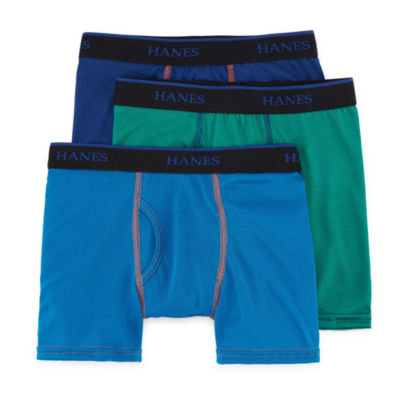 Hanes 3-pc. Boxer Briefs Big Kid Boys