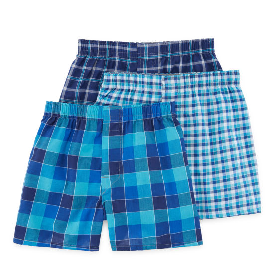 Hanes® Boys' Ultimate Boxer with Comfort Flex® Waistband 3-pack
