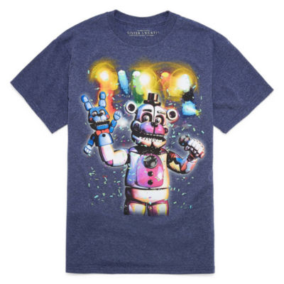 Five Nights at Freddys Graphic Short Sleeve T-Shirt-Big Kid Boys