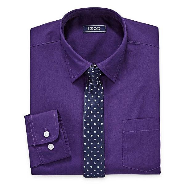Izod Shirt Tie Set Big Kid Boys Jcpenney