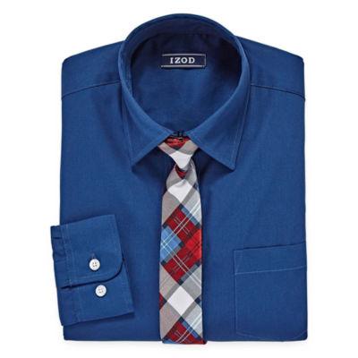 Izod Shirt Tie Set 8 20 Boys Jcpenney